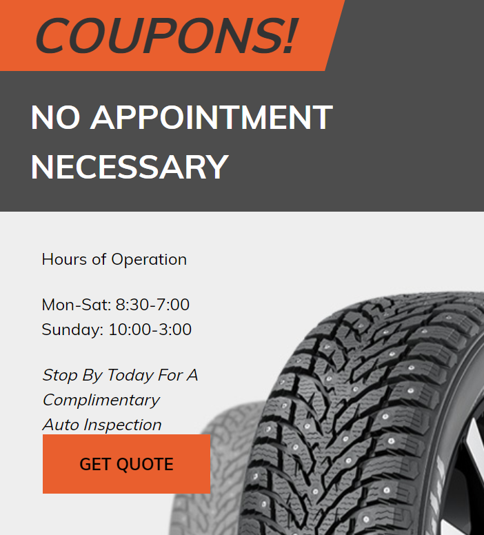 tire repair service Archives - Deals on Wheels