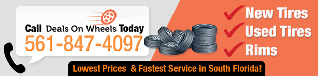 Deals On Wheels Call To Action Banner